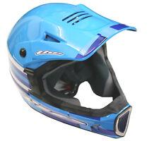 THE Thirty3 Cube Composite Full Face Mountain Bike Helmet Blue Medium