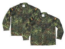 Lot of 2 Flecktarn Camouflage German Army Shirt/Jacket - NEW - SIZE GR10 (Large)