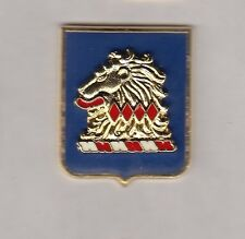 US Army New Jersey National Guard ARNG crest DUI badge c/b clutchback P-23