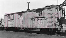 Denver & Rio Grande Western (D&RGW) Kitchen Car 04013 - 8x10 Photo