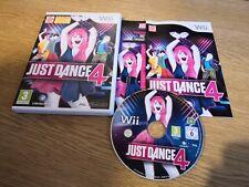 JUST DANCE 4 NINTENDO Wii Wii U GAME