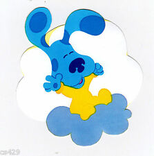 "2.5"" BLUES CLUES ON CLOUD NICK JR CHARACTER PEEL STICK WALL BORDER CUT OUT"