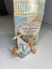 Calico Kittens - Baby Boy's / Girl First Christmas - Kitten Cat Hanging Ornament