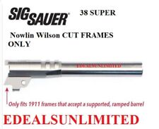 "Sig Sauer Barrel Nowlin Wilson CUT 5"" 38 SUPER fits COLT PARA BROWN BAER CASPIAN"