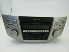 2006 lexus RX400H Rx330 am fm radio cd player receiver 86120-48510