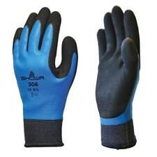 Showa 306 All Weather Grip Gardening Gloves 100% Water Repellent.  Sizes M & L