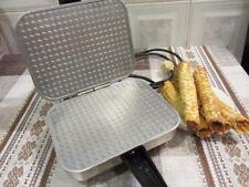 Elettrica Waffle maker. quadrati di ferro Maker. NUOVO in scatola. SOTTILE CIALDA. 220V