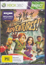 Kinect Adventure Standalone PAL Xbox 360 Game *NEW*+ Warranty!!!