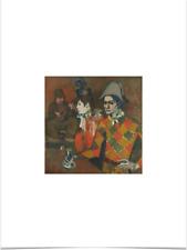 PABLO PICASSO AU LAPIN AGILE BIG BORDERS LIMITED EDITION ART PRINT 18X24 orange