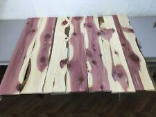 7 Rustic Eastern Red Cedar Aromatic 5 3/4 Wide Lumber Closet Liner