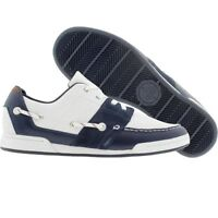 $97 Lacoste Strategic Trend Cabestan Twin Cup white blue fashion sneakers 12 13