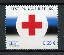 Estonia 2019 MNH Estonian Red Cross 100 Years 1v Set Medical Health Stamps