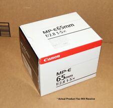 Canon 65mm MP-E F/2.8 1-5x Macro Prime Lens - Ultra-Low Dispersion - Ex Demo