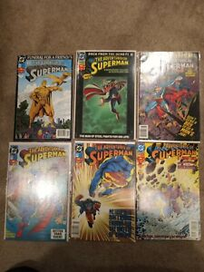 The Adventures of Superman #'s 499, 500 variant 503, 505-06, 508 DC Comics 1993