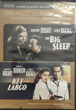 New listing Tcm Greatest Classic Films: Bogart Bacall Double Feature - The Big Sleep/Key.