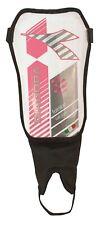 Diadora Fulmine Soft Shell Soccer Shinguards - Shin / Leg Guards Xs White/Pink