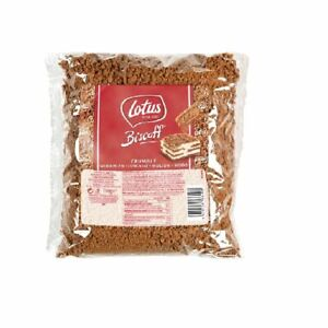 Lotus Biscoff Crumbs 750g Baking Mixing Toppings Bulk Deal Free UK Delivery