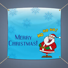 Merry Christmas Banner, Outdoor Party Decor 16 Oz Heavy Duty Vinyl Sign, 5' X 3'