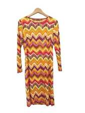 Designer Missoni VTG Stunning Stretch Silk Size 10 to 12 AU Women's Dress