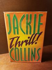 Thrill by Jackie Collins (1998, Hardcover) FREE SHIPPING!!!