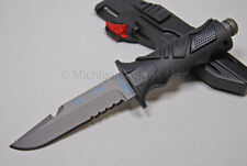 FOX Knife - FX-OCM01-CP Ocean Master Dive Knife w/ Titanium - 2 Sheaths  (4010)