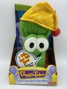 NEW 77491 Veggie Tales Talk Hum & Glow Junior Asparagus Bedtime Friend FREE SHIP