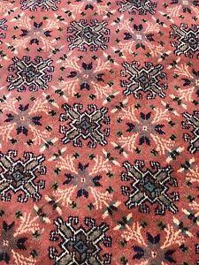 Rare Cross Patterned 1920-1939s 7x10ft Wool Pile Natral Dyes Hereke  Rug Turkey