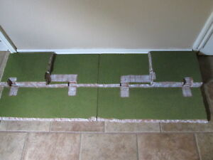 4FT Halloween Village Display Platform Base H46 For Lemax Dept56 Dickens + More
