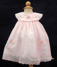 NWT Will'beth Pink Cupcake Birthday Party Dress 12 Months Baby Girls Boutique