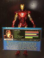 "Marvel Diamond Select The Avengers Iron Man MK VI Loose 7"" Figure With Hands"
