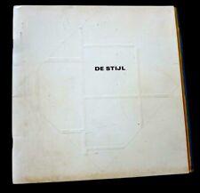 DE STIJL GROUP ART EXHIBITION CATALOGUE Vintage