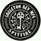 SPITFIRE WHEELS / Esqueleto Llave MFG - Adhesivo de skateboard - 7.5cm