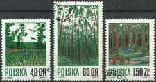 Timbres Flore Pologne 1914/6 o lot 24308
