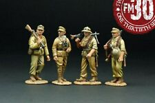 FIGARTI PEWTER WW2 GERMAN AFRIKA KORPS G4099E MARCHING SOLDIERS MIB