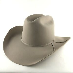 Stetson Rancher Silverbelly 4X Beaver Size 7 5/8 Felt Western Hat w/ Box