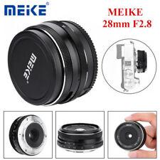Meike MK-28mm F2.8 Large Aperture Manual Focus Lens for Fuji X Mount Mirrorless