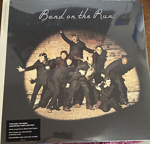 PAUL MCCARTNEY - BAND ON THE RUN LP ARCHIEVE COLLECTION 2LP 2010 NEW! 180 GRAM