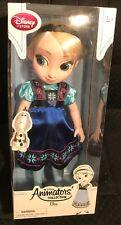 Disney Animators' Collection Elsa Doll -Frozen -16 Inch New In Box