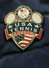 Olympic Pin: London 2012 Olympic Pin Team USA Tennis Pin Serena Williams Olympic