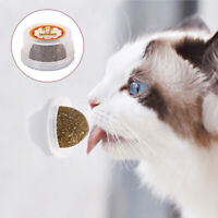 Pet Teeth Cleaning Toys Funny Cat Chewing Stick Catnip Ball Lollipop Kitten