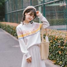 sweater Mori girl Sweet fashion fresh Western style Sleeve head Loose coat