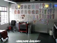 Tattoo Studio Work Station Mobiler Arbeitsschrank 4 Schubfächer 1 Klappfach