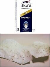 PACK OF 10 STRIP PORE PACK FOR MEN BIORE COOL NOSE CLEANING BLACKHEADS REMOVAL