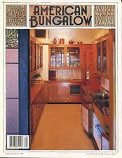 AMERICAN BUNGALOW MAGAZINE Issue Number 20 Winter 1998 C 4 1