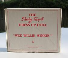 Danbury Mint Shirley Temple Wee Willie Winkie Outfit Never Removed From Plastic