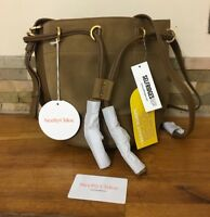 SEE BY CHLOE Leather and Suede Bucket Bag