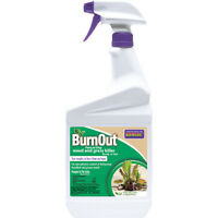 Bonide 7490 BurnOut All Natural Weed & Grass Killer, Ready-To-Use, 1 Qt
