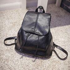 Fashion Women Leather Backpack Rucksack Travel School Bag Shoulder Bags Satchel