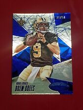 2015 Panini Certified Drew Brees Mirror Blue #'d/50 New Orleans Saints