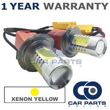 2X CANBUS YELLOW H7 CREE LED DIPPED BEAM BULBS FOR RENAULT MEGANE LAGUNA SCENIC